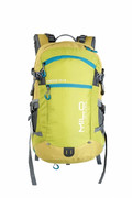 plecak trekkingowy MILO COROICO 25+3 lime green/ocean blue