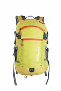 plecak trekkingowy MILO COROICO 25+3 lime green/deep red