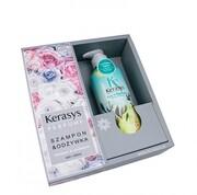 Kerasys Zestaw Upominkowy – Pure & Charming Perfumowany SZAMPON + ODŻYWKA do włosów suchych i zniszczonych (2 x 600ml) Kerasys