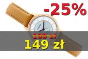 Zegarek damski PULSAR PH8374X1 beżowy pasek skóra naturalna