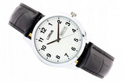 Zegarek męski LORUS RJ643AX9 czarny pasek data klasyk