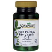 Suplement diety Swanson Witamina D-3 1000IU 60 kaps - RATY 0% Swanson 087614115108
