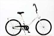 Rower miejski Maxim Kesko 24 Solifer Helmi - Biały Maxim 90-16FKE-2418-02