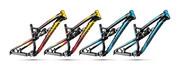 Rama rowerowa Dartmoor Wish, z damperem powietrznym RS Monarch Plus High Volume R, czarno-miami vice, L Dartmoor 5906720892473