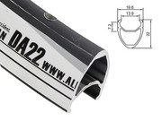 Obręcz szosa ALEXRIMS DA22 700x36otw. bok CNC czarna - RATY 0% ALEXRIMS 5907558600094