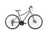 Rower crossowy damski Romet Orkan LTD D - szaro-niebieski Romet 250324-6402