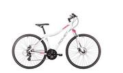 Rower crossowy damski Romet Orkan LTD D - biało-różowy Romet 250323-6402