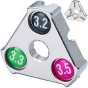 Klucz do szprych YC-1A trójkąt - wyprzedaż Ukryte 183093-uniw