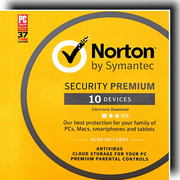 Norton Security - Premium - 2020 90 Dni 10 Pc