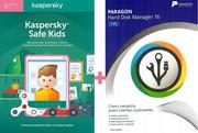 Kaspersky Safe Kids Premium 1PC/1rok + Hard Disk