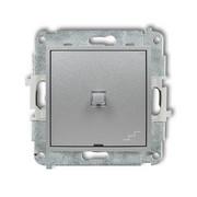 Łącznik schodowy Karlik Mini 7MWPUS-3 w stylu amerykańskim srebrny metalik Karlik