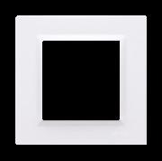 Ramka pojedyncza Simon 10 CR1/11 biała Kontakt-Simon - wysyłka w 24h Kontakt-Simon