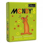 Prezerwatywy-Amor Rilaco MONDYS smakowe 3pcs boss of toys