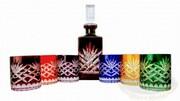Kolorowy zestaw do whisky Ananas MIX Marika