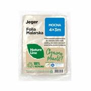 Folia malarska Nature Line Mocna 4 x 3 m Jeger JEGER