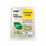 Folia malarska Nature Line Standard 4 x 3 m Jeger JEGER
