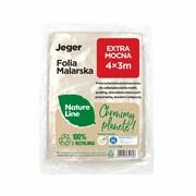 Folia malarska Nature Line Extra mocna 4 x 3 m Jeger JEGER