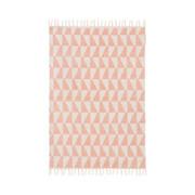 Dywan bawełniany Gia różowy 60 x 90 cm Inspire INSPIRE