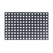 Wycieraczka zewnętrzna Alfa 60 x 40 cm gumowa czarna Inspire INSPIRE