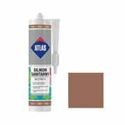 Silikon sanitarny 123 280 ml Jasny brązowy ATLAS ATLAS
