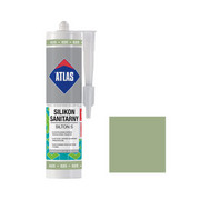 Silikon sanitarny 025 280 ml Jasny zielony ATLAS ATLAS