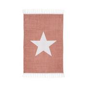 Dywan bawełniany Star różowy 60 x 90 cm Inspire INSPIRE