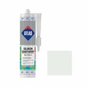 Silikon sanitarny 001 280 ml Biały ATLAS ATLAS