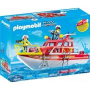 Playmobil Zestaw z figurką Główna kwatera straży pożarnej 4819