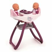 Krzesełko do karmienia dla bliźniąt Baby Nurse + PREZENT do zakupów za min.30 zł. Smoby 3032162203446