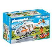 Playmobil Zestaw z figurką Helikopter ratowniczy 4222