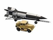 Model plastikowy SS-100 Gigant+Transporter +V2 Revell