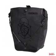 Sakwa rowerowa Tylna Ortlieb Back-Roller Design Symmetry Black Matt 20L Ortlieb