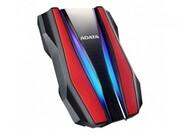 Adata Dysk twardy zewnętrzny HD770G 1TB USB3.2 czerwony Adata
