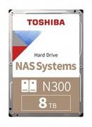 Dysk Toshiba N300 HDWG480UZSVA 3,5' 8TB SATA 7200 256MB NAS BULK TOSHIBA