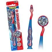 Zestaw do pielęgnacji jamy ustnej Transformers Toothbrush and Cap Niebieska FIREFLY