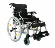 Części zamienne do wózka Prestige - Koło tylne - szare, pompowane, aluminiowe obręcze 24``x1`` ARmedical