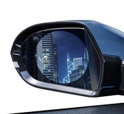 2 x folia przeciwdeszczowa na boczne lusterka samochodu 95x95mm Baseus