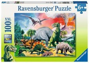 puzzle RAVENSBURGER RAVEN 96 EL KUL DINOZAURY