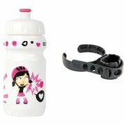 Bidon ZEFAL Little Z Z-Girl 700 ml Biało-Różowy