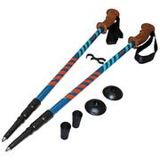 Kije, kijki trekkingowe 3-sekcyjne, anti-shock 105-135cm SV-RE0005 SportVida SportVida