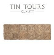 PROSTOKĄTNA MATA PODŁOGOWA Z TRAWY MORSKIEJ 60x180 cm Tin Tours