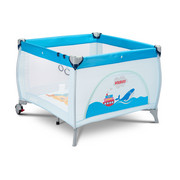 Kojec dziecięcy, turystyczny, składany 0,15kg HOLIDAY niebieski Caretero Caretero