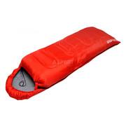 Śpiwór turystyczny typu kołdra z kapturem 180+30 cm, ocieplenie 190g SportVida SportVida