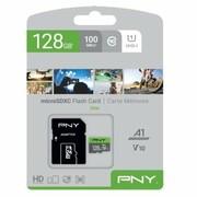 PNY Karta pamięci MicroSDXC 128GB P-SDU128V11100EL-GE PNY