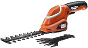 Akumulatorowe nożyce do trawy Black&Decker GSL700