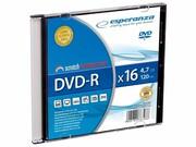 ESPERANZA DVD-R 4.7GB pudełko slim DVD-R 4.7GB pudełko slim ESPERANZA