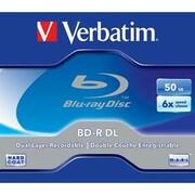 Dysk Verbatim BD-R DL 50GB, 6x, jewel, 1ks (43748)