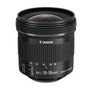Obiektyw Canon EF-S 10-18 mm f/4.5-5.6 IS STM + EW73C + LC kit (9519B009) Czarny
