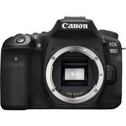 Aparat cyfrowy Canon EOS 90D tělo Czarny