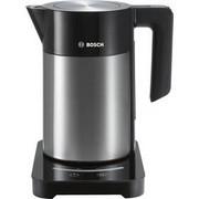 Czajnik bezprzewodowy Bosch TWK7203 Czarna/INOX
